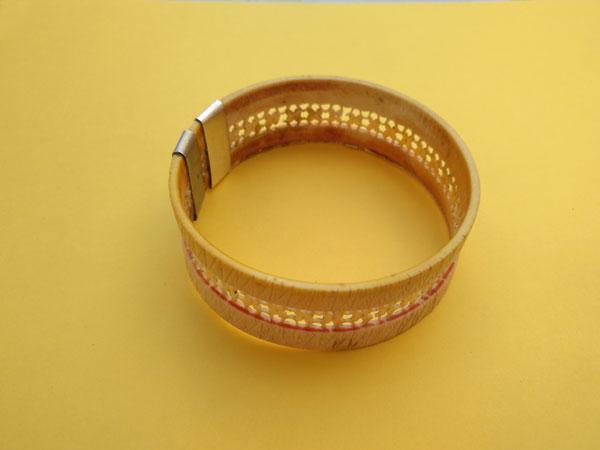 Antigua pulsera de marfil labrada artesanalmente.. Ref. TXA
