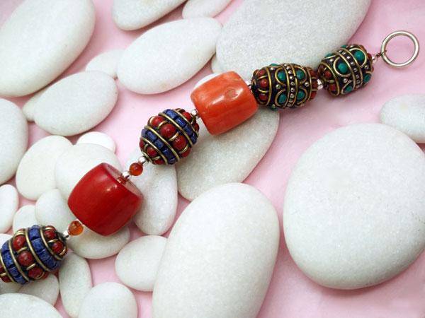 Pulsera etnica artesanal tibetana.. Foto 3