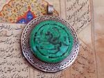 Ancient mythological ethnic pendant.. Ref. XAG